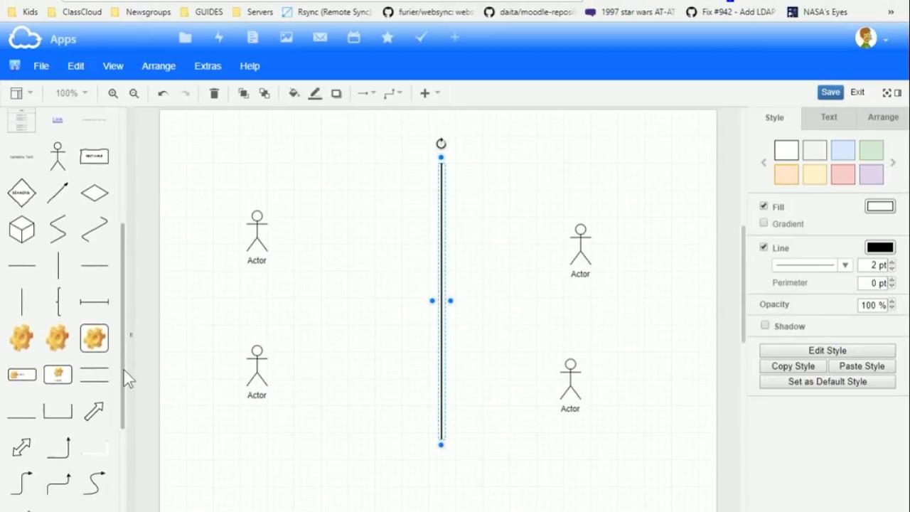Diagram created in Folderz and embedded in Folioz