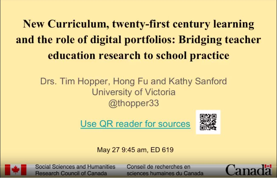 Bridging between university and school practice with eportfolios
