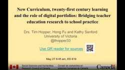 Bridging between university and school practice with eportfolios