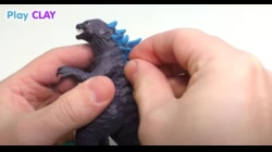 Making Godzilla from Clay Tutorial